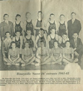 Rineyville Basketball '41-'42 001